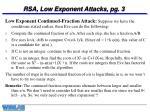 rsa low exponent attacks pg 3