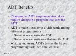 adt benefits