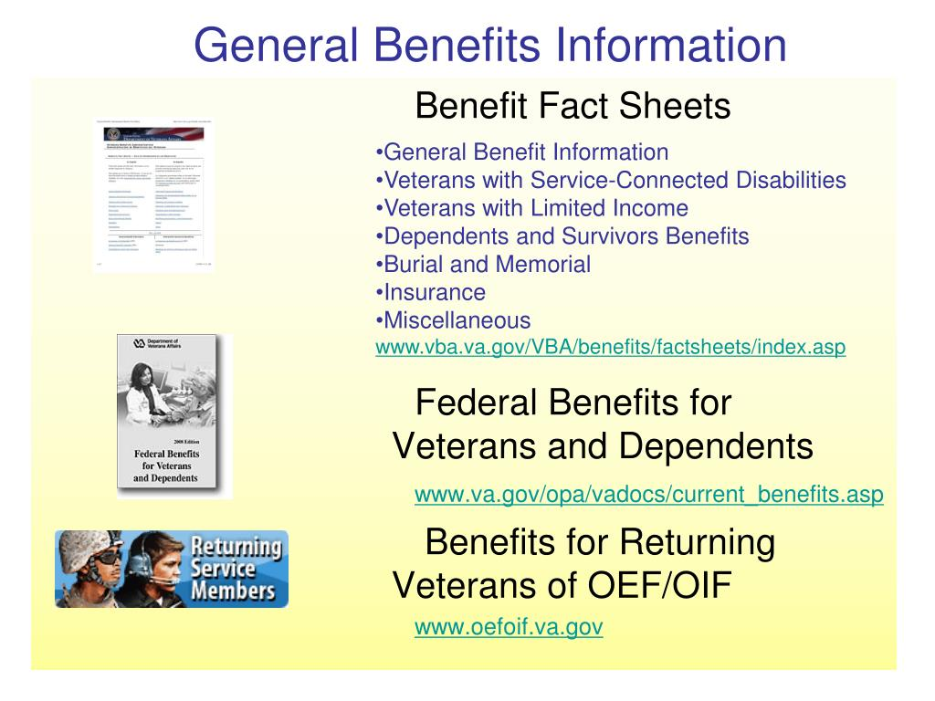 General Benefits Information