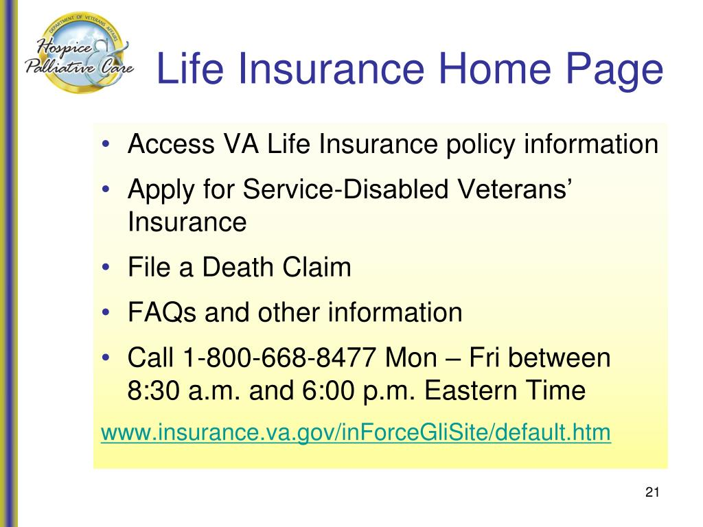 Life Insurance Home Page