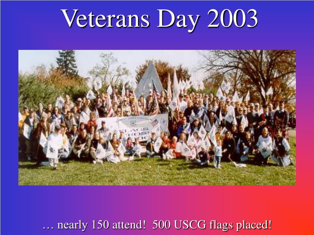 Veterans Day 2003