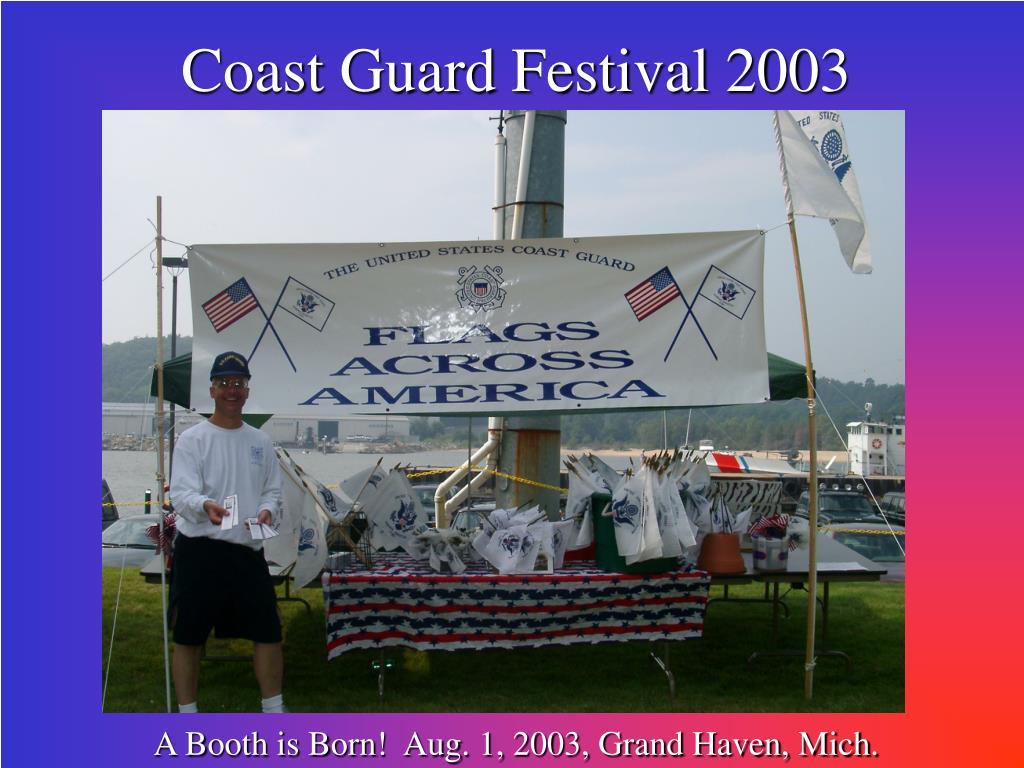 Coast Guard Festival 2003
