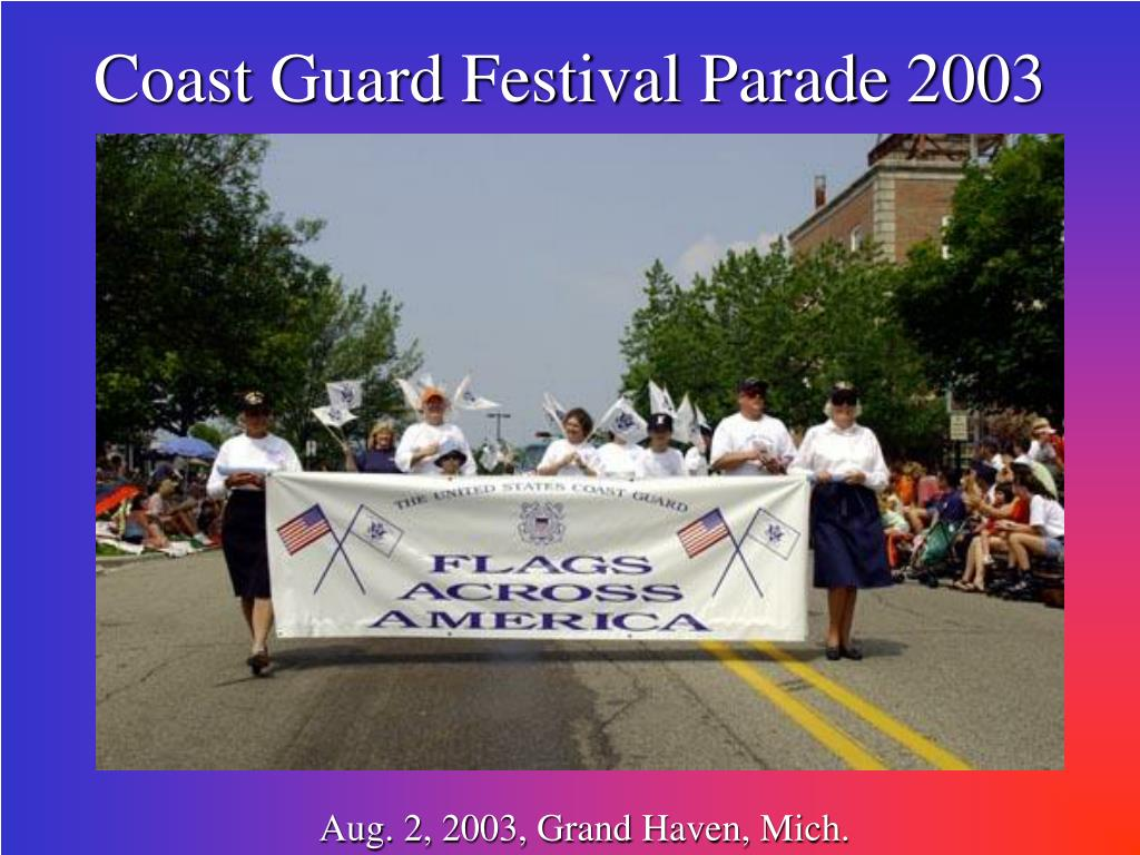 Coast Guard Festival Parade 2003