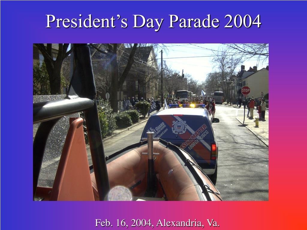 President's Day Parade 2004
