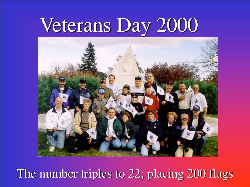 Veterans Day 2000