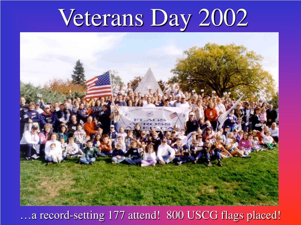 Veterans Day 2002