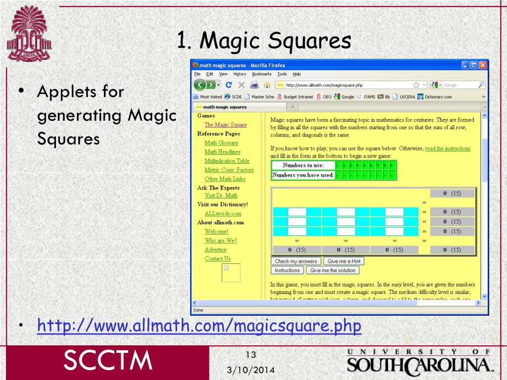 the wonders of magic squares pdf
