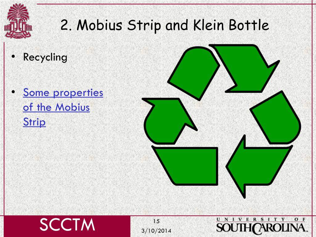 2. Mobius Strip and Klein Bottle