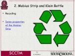 2 mobius strip and klein bottle15