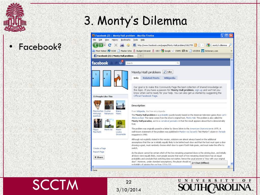 3. Monty's Dilemma