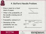 4 buffon s needle problem