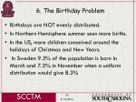 6 the birthday problem39