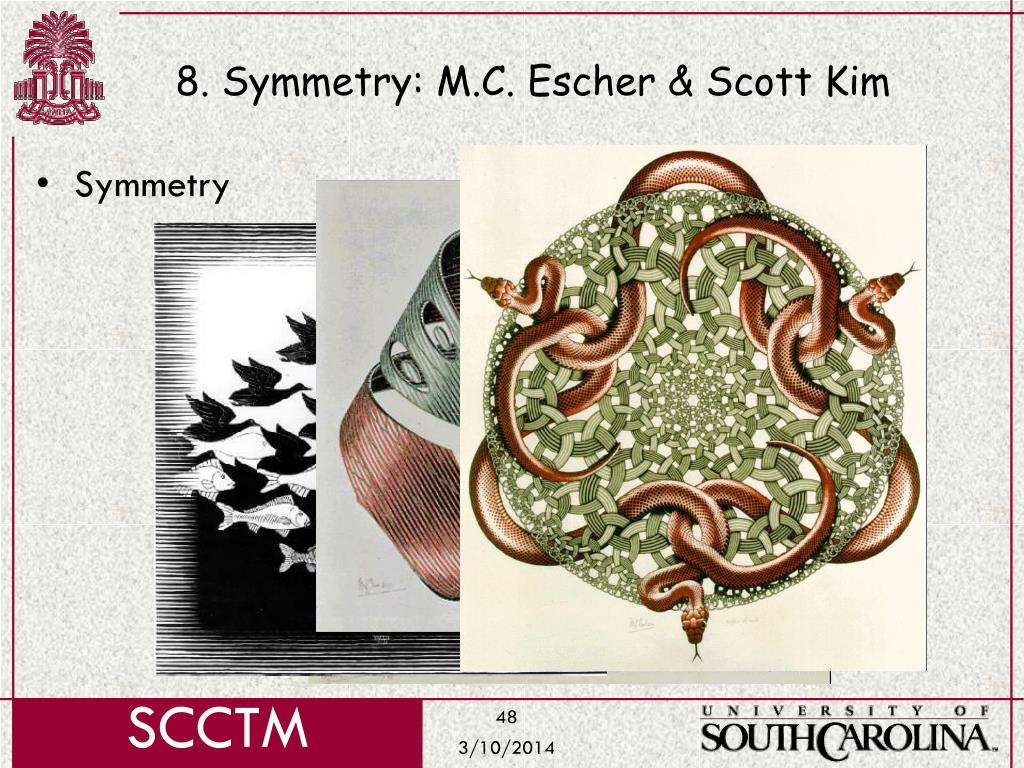 8. Symmetry: M.C. Escher & Scott Kim