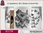 8 symmetry m c escher scott kim49