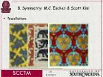 8 symmetry m c escher scott kim50