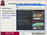 8 symmetry m c escher scott kim55