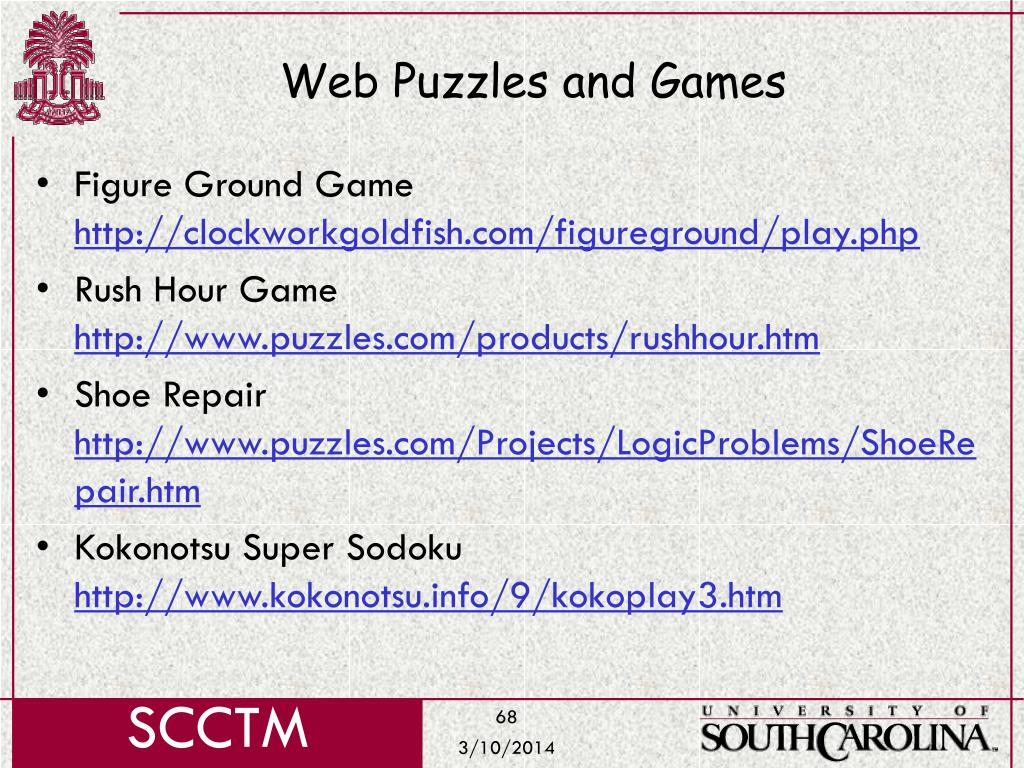 Web Puzzles and Games