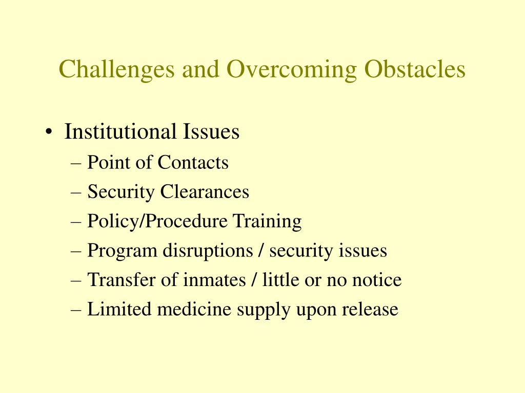 Challenges and Overcoming Obstacles