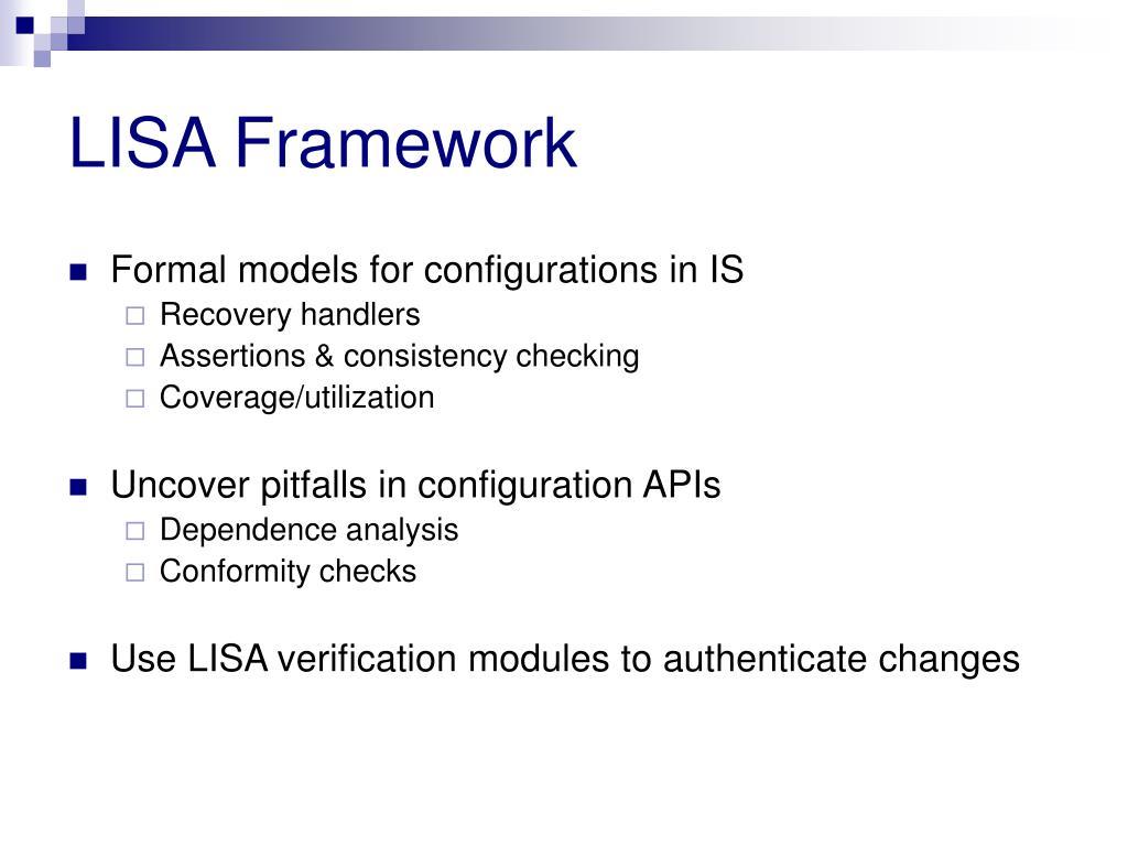 LISA Framework