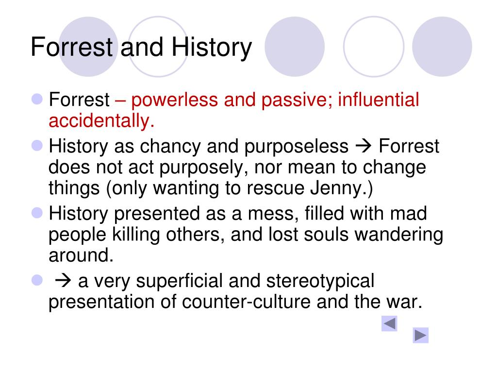 Forrest and History