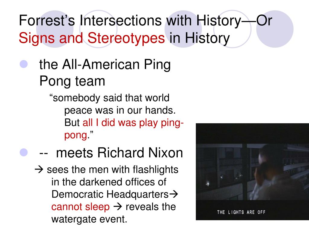 Forrest's Intersections with History—Or