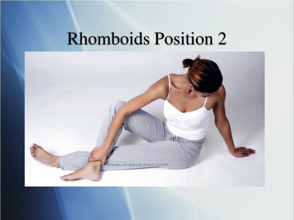 Rhomboids Position 2