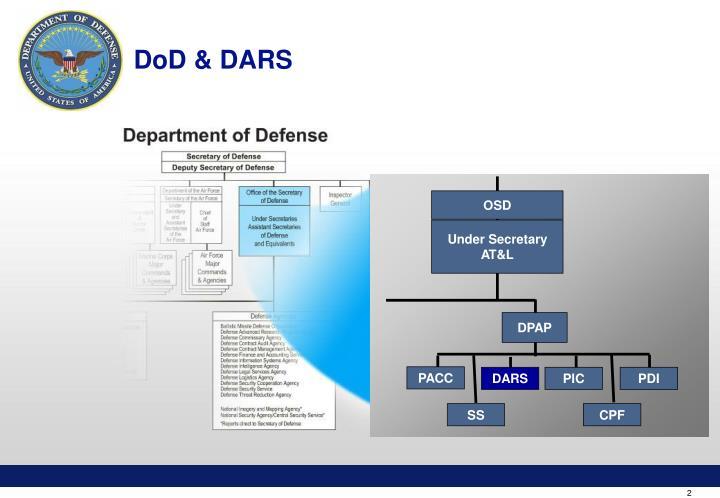 DoD & DARS