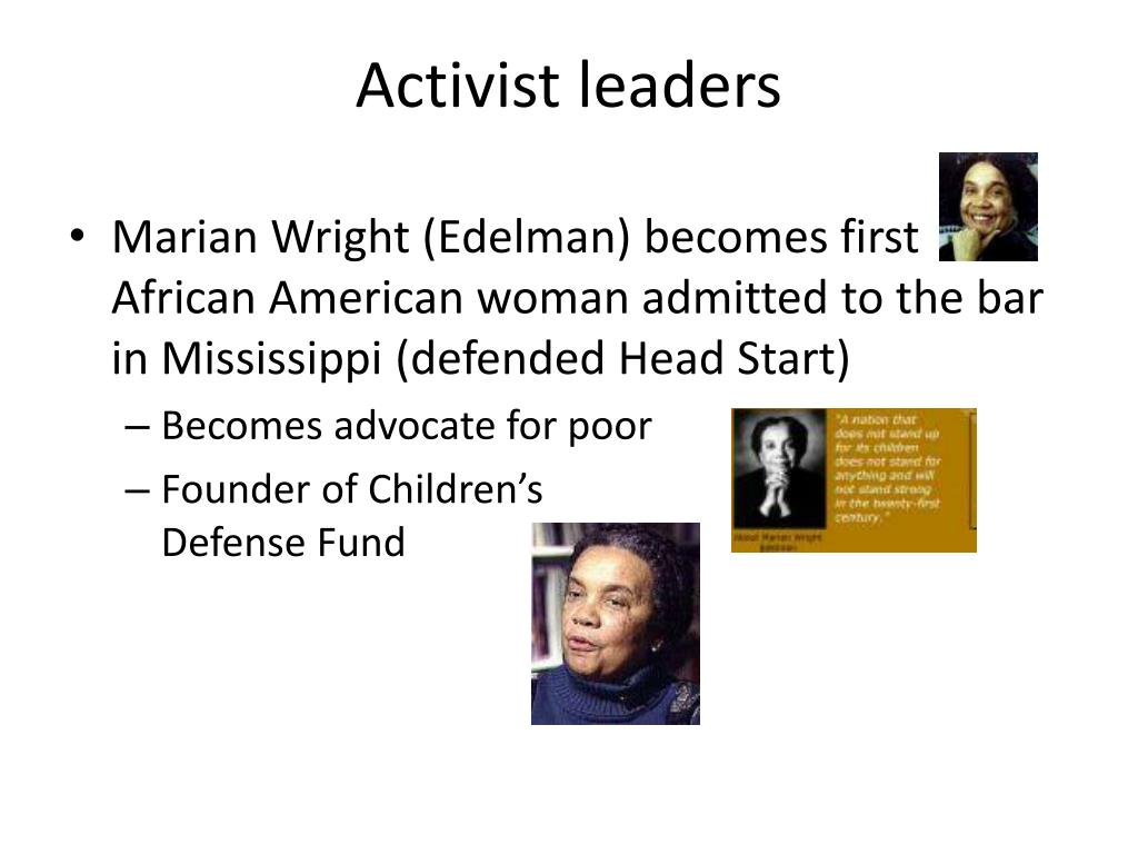 Activist leaders