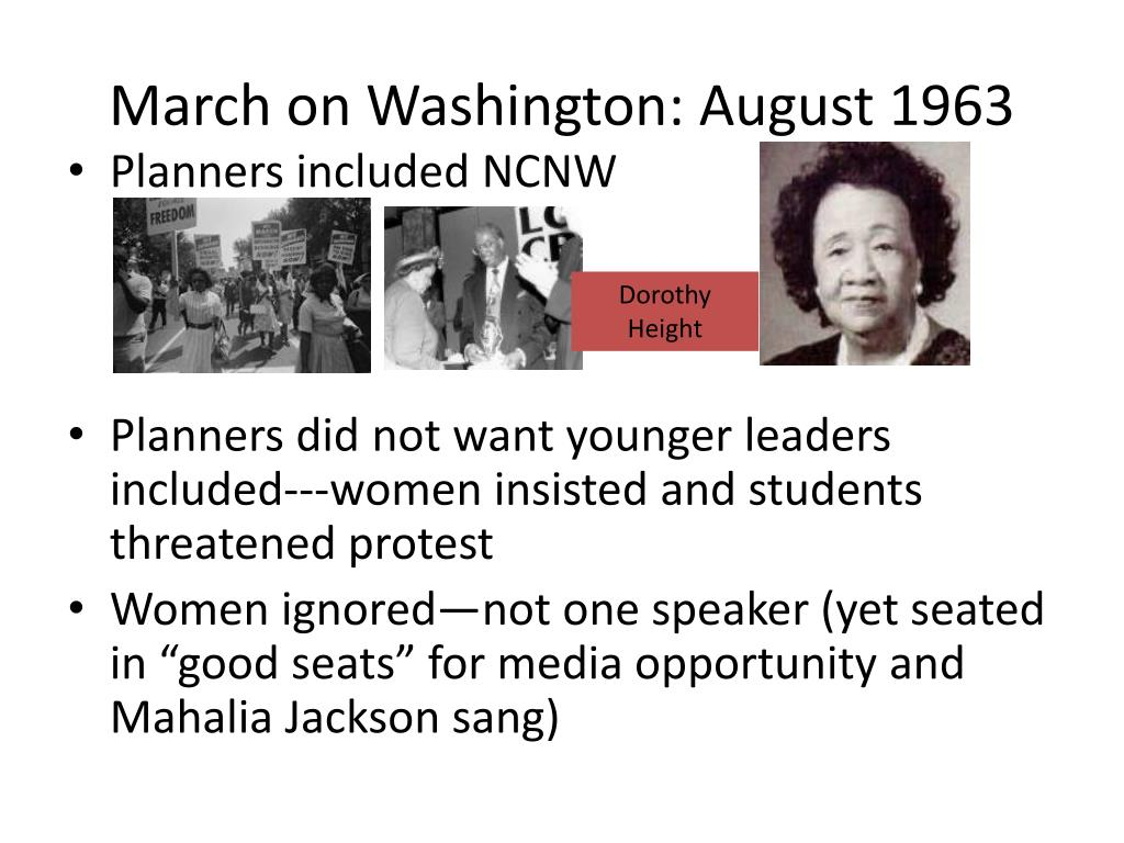 March on Washington: August 1963