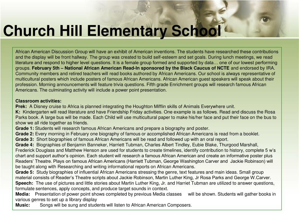 Church Hill Elementary School