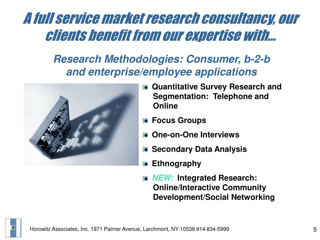 A full service market research consultancy, our clients benefit from our expertise with…