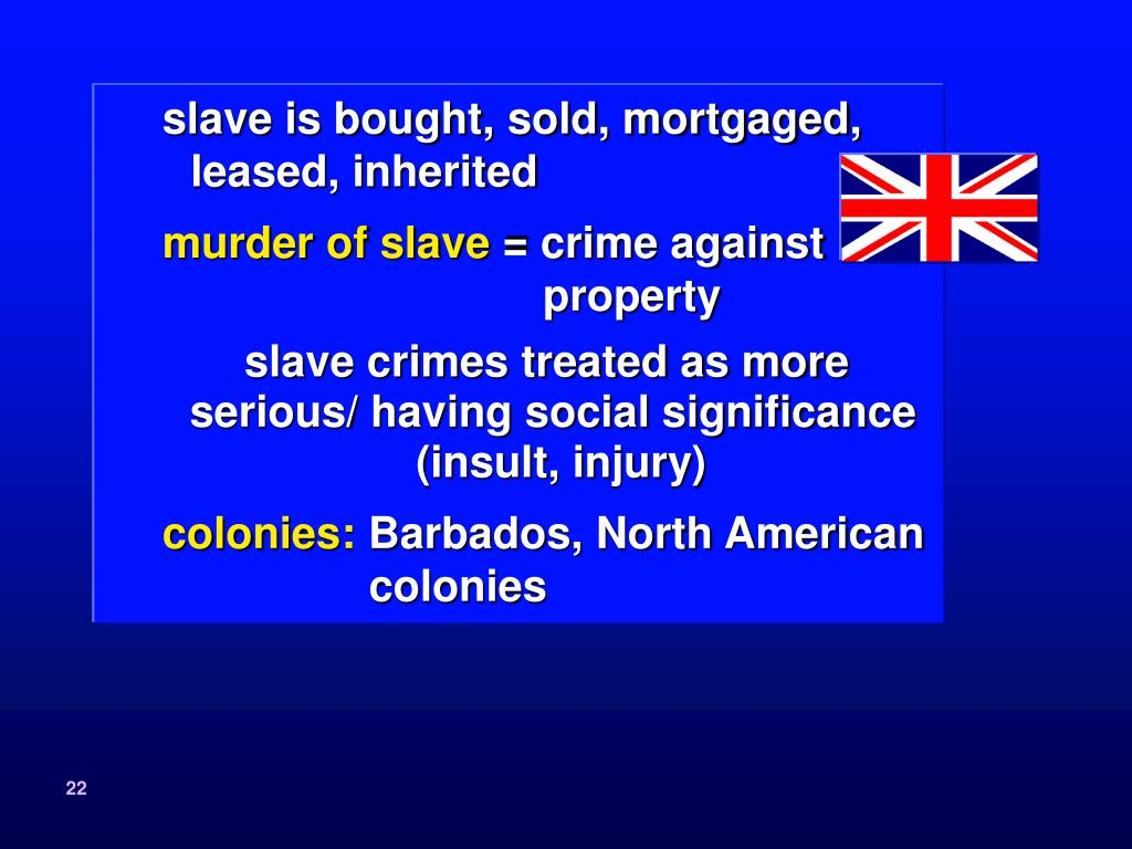 slave is bought, sold, mortgaged, leased, inherited
