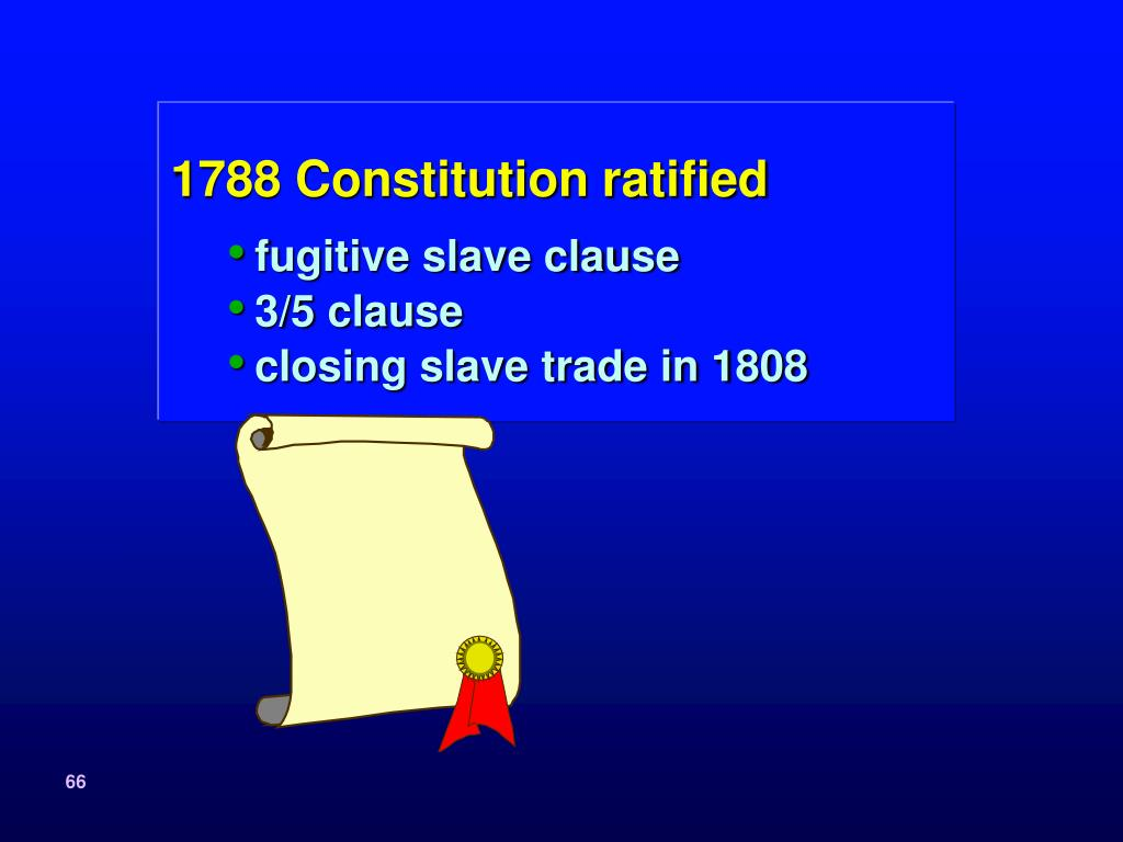 1788 Constitution ratified