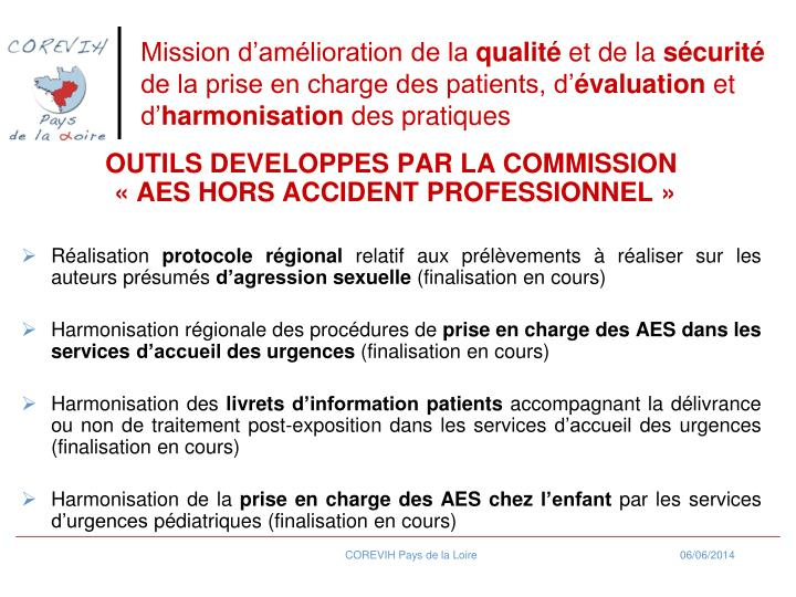 Mission damlioration de la