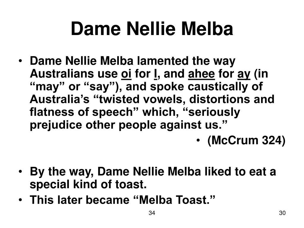 Dame Nellie Melba