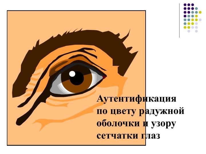 Аутентификация по цвету радужной оболочки и узору сетчатки глаз