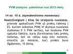 pvm statymo pakeitimai n uo 2013 met1
