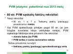 pvm statymo pakeitimai n uo 2013 met15