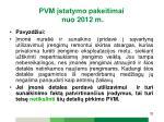 pvm statymo pakeitimai nuo 2012 m22