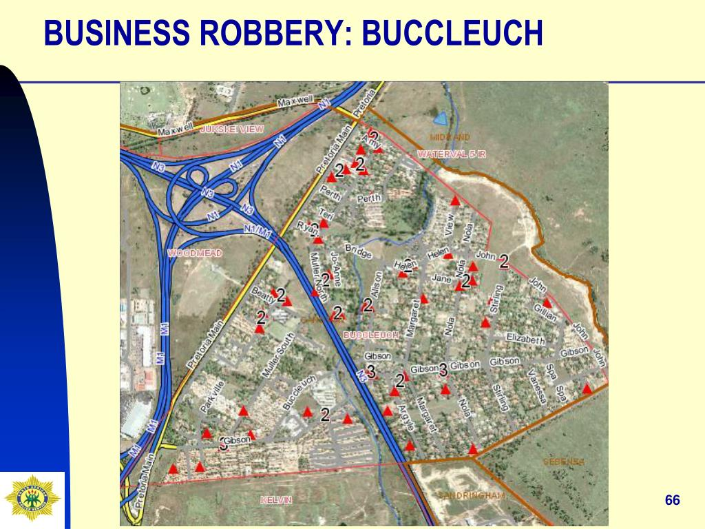 BUSINESS ROBBERY: BUCCLEUCH