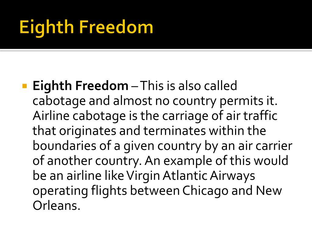 Eighth Freedom