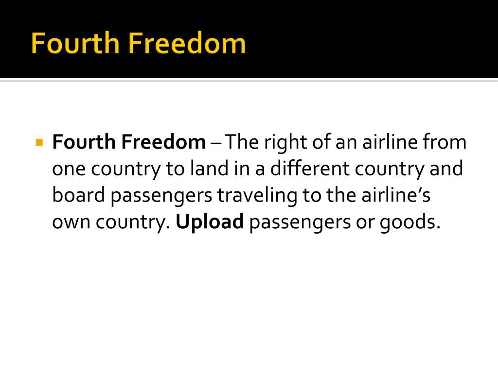 Fourth Freedom