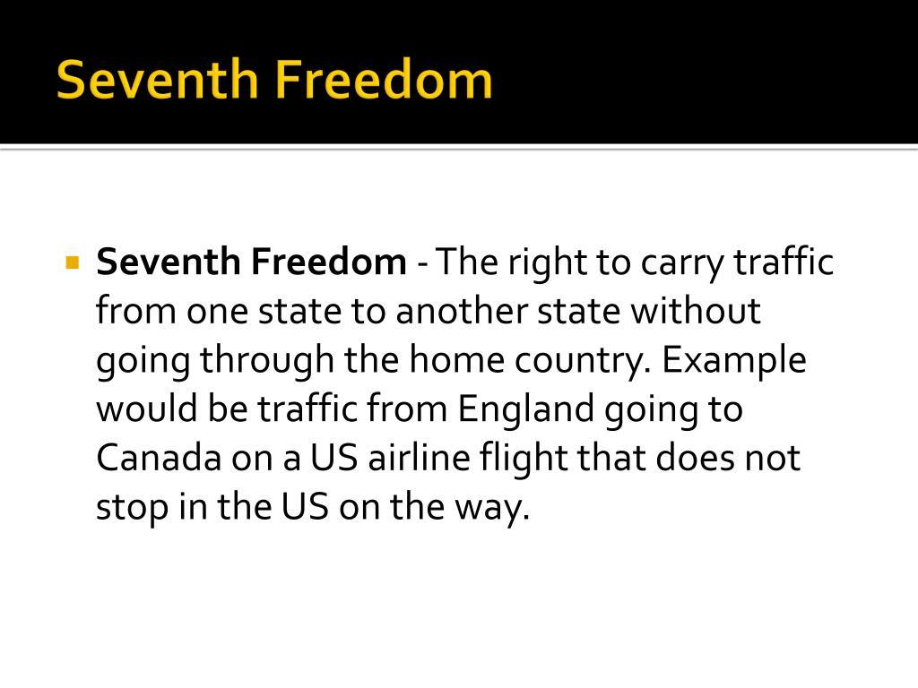 Seventh Freedom