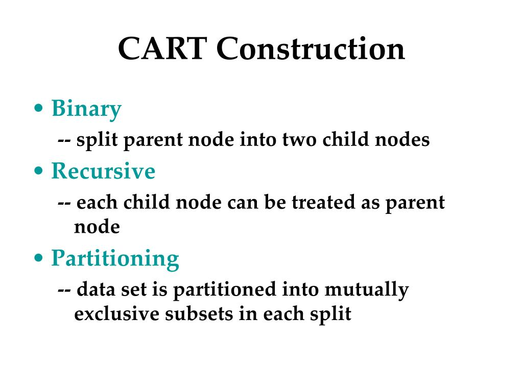 CART Construction