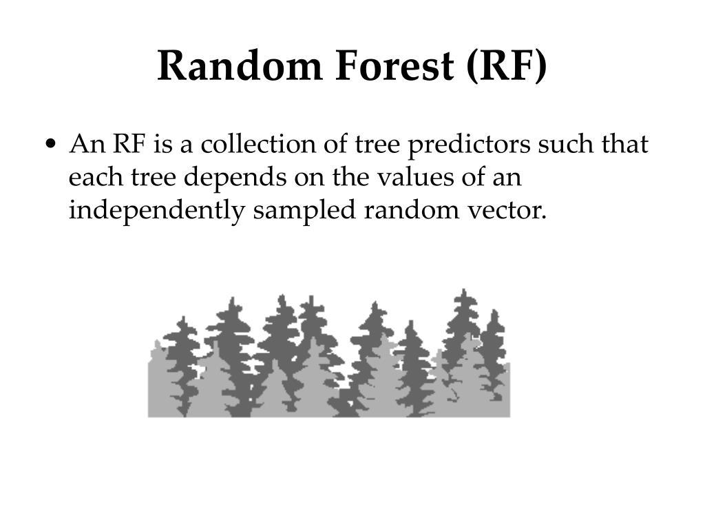 Random Forest (RF)