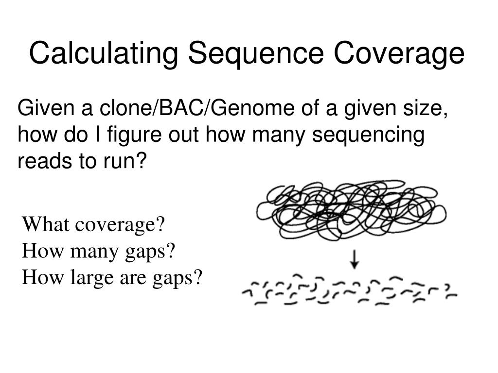 Calculating Sequence Coverage