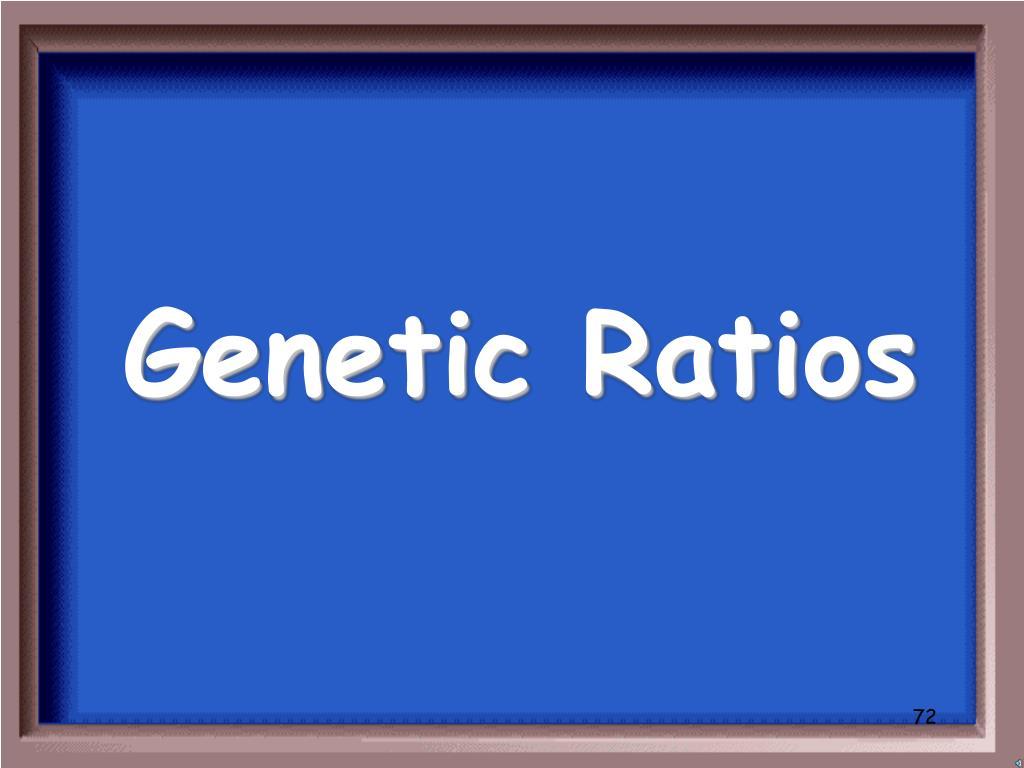 Genetic Ratios