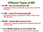 different types of ms54