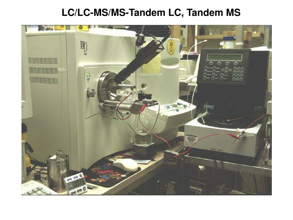 LC/LC-MS/MS-Tandem LC, Tandem MS