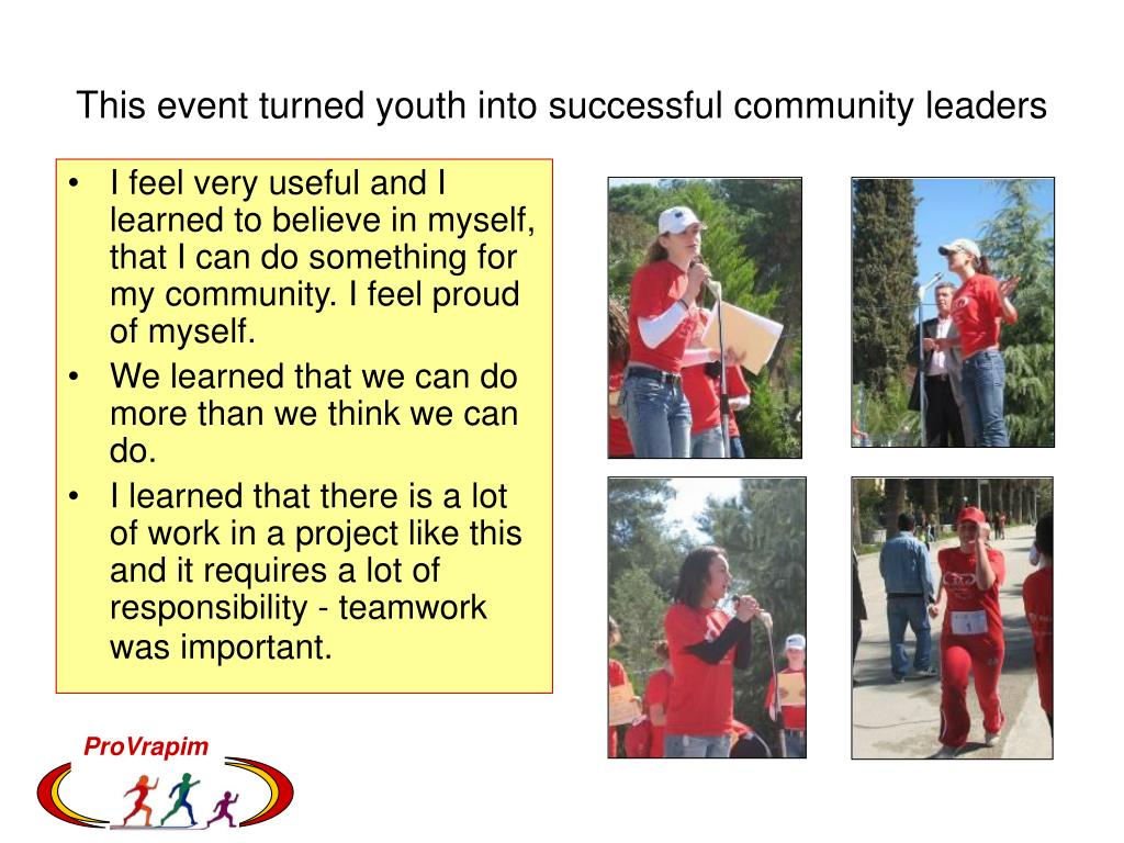 This event turned youth into successful community leaders